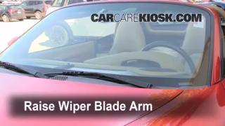 Front Wiper Blade Change Porsche Boxster (1997-2004)