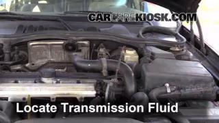 Add Transmission Fluid: 1990-1992 Volvo 740