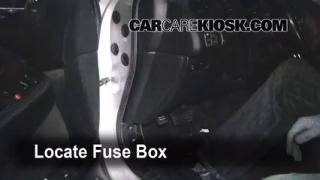 Interior Fuse Box Location: 1999-2003 Acura TL