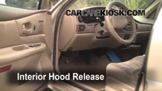 Open Hood How To 1997-2005 Buick Century