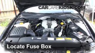 Blown Fuse Check 1997-2001 Cadillac Catera