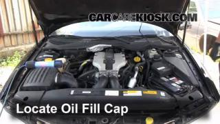 How to Add Oil Cadillac Catera (1997-2001)