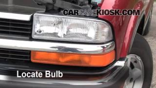 Highbeam (Brights) Change: 1998-2001 Oldsmobile Bravada