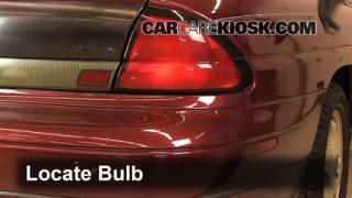 Brake Light Change 1995-1999 Chevrolet Monte Carlo