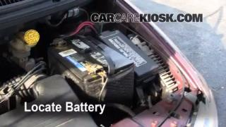 Battery Replacement: 2001-2004 Dodge Grand Caravan