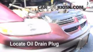 Oil & Filter Change Dodge Caravan (1996-2000)