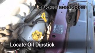 Check Oil Level 1996-2000 Dodge Caravan