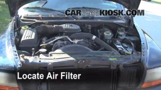 Air Filter How-To: 1998-2003 Dodge Durango