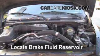 1998-2003 Dodge Durango Brake Fluid Level Check