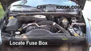 Replace a Fuse: 1998-2003 Dodge Durango