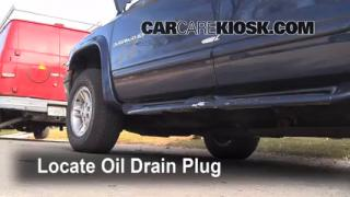 Oil & Filter Change Dodge Dakota (1997-2004)