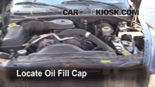 How to Add Oil Dodge Durango (1998-2003)