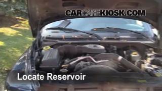 Check Windshield Washer Fluid Dodge Durango (1998-2003)
