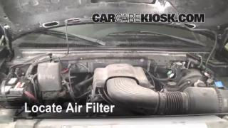1997-2004 Ford F-150 Engine Air Filter Check
