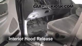 Open Hood How To 1997-2002 Ford Expedition