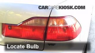 Brake Light Change 1998-2002 Honda Accord