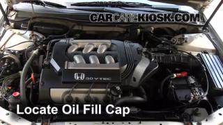 How to Add Oil Honda Accord (1998-2002)