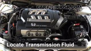 service manual   check transmission fluid