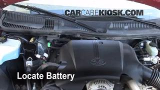 Battery Replacement: 1998-2011 Lincoln Town Car