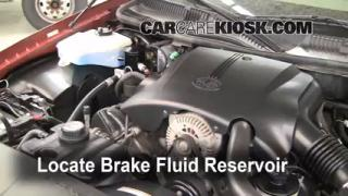 Add Brake Fluid: 1998-2011 Lincoln Town Car