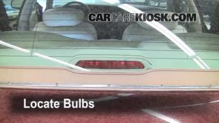 Third Brake Light Bulb Change Lincoln Town Car (1998-2011)