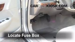 Interior Fuse Box Location: 1992-2011 Mercury Grand Marquis