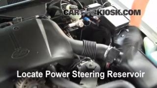 Follow These Steps to Add Power Steering Fluid to a Mercury Grand Marquis (1992-2011)