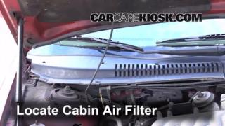 1996-1999 Ford Taurus Cabin Air Filter Check