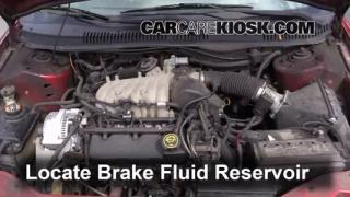 2000-2007 Ford Taurus Brake Fluid Level Check
