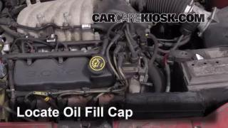 How to Add Oil Ford Taurus (1996-1999)