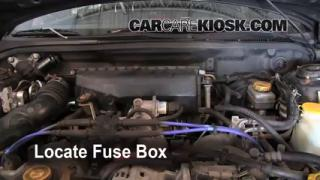 Blown Fuse Check 1993-2001 Subaru Impreza