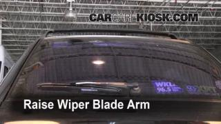 Rear Wiper Blade Change Subaru Impreza (1993-2001)