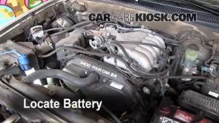 How to Jumpstart a 1996-2002 Toyota 4Runner
