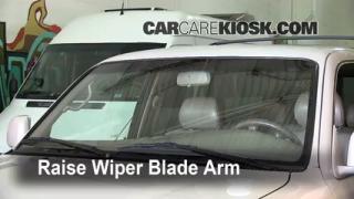 Front Wiper Blade Change Toyota 4Runner (1996-2002)