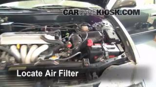 Air Filter How-To: 1998-2002 Toyota Corolla
