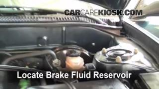 Add Brake Fluid: 1998-2002 Toyota Corolla