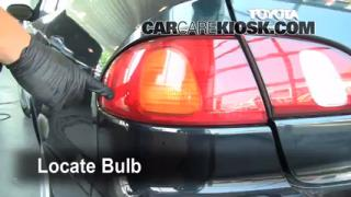 Tail Light Change 1998-2002 Toyota Corolla