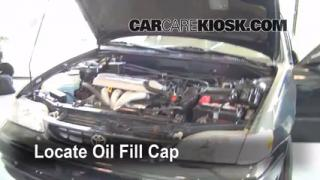 How to Add Oil Toyota Corolla (1998-2002)