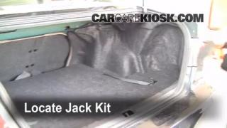 1998-2002 Toyota Corolla Jack Up How To