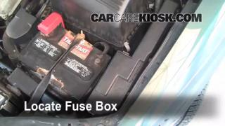 Blown Fuse Check 1998-2003 Toyota Sienna