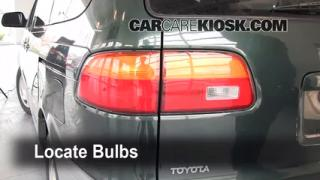 Brake Light Change 1998-2003 Toyota Sienna