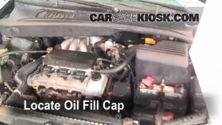 How to Add Oil Toyota Sienna (1998-2003)