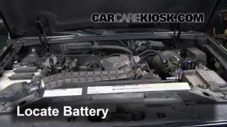 Battery Replacement: 1995-2001 Ford Explorer