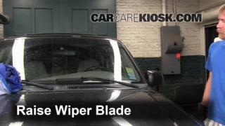 Front Wiper Blade Change Mercury Mountaineer (1997-2001)