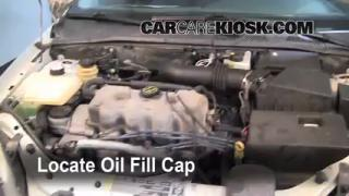 How to Add Oil Ford Focus (2000-2004)