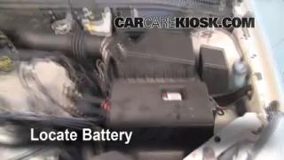 how to clean battery corrosion 2000 2004 ford focus. Black Bedroom Furniture Sets. Home Design Ideas