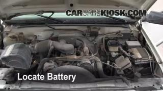 How to Clean Battery Corrosion: 1990-2000 GMC C3500