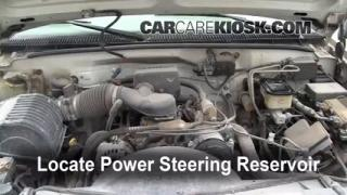 Follow These Steps to Add Power Steering Fluid to a GMC C3500 (1990-2000)