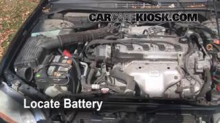 How to Clean Battery Corrosion: 1998-2002 Honda Accord
