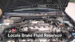 Add Brake Fluid: 1998-2002 Honda Accord